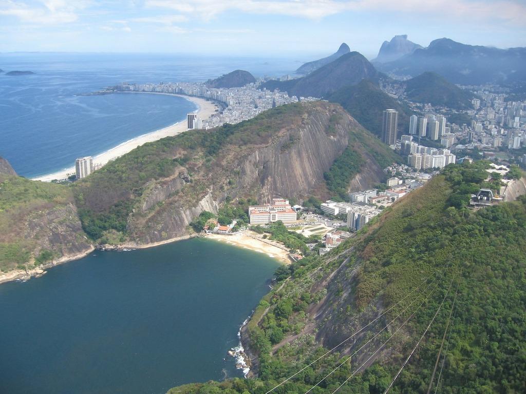Rio de janeiro brazil hills, nature landscapes.