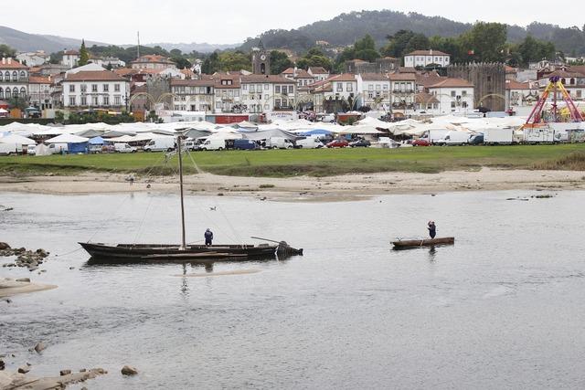 Rio lima boat minho, travel vacation.