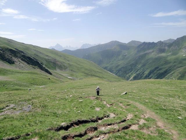 Rise mountains alpine, nature landscapes.