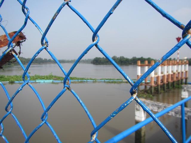 River fence vietnam.