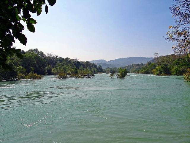 River kali water.