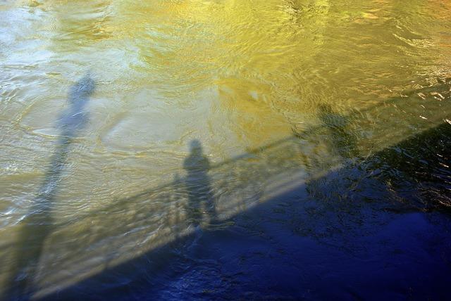 River muddy waters murky.