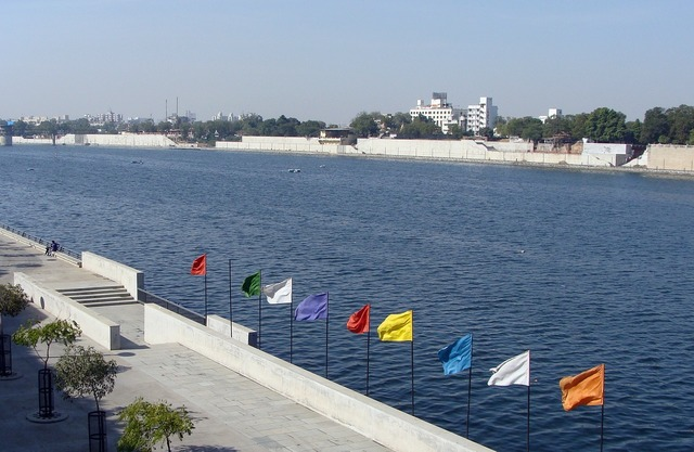 River sabarmati riverfront, travel vacation.