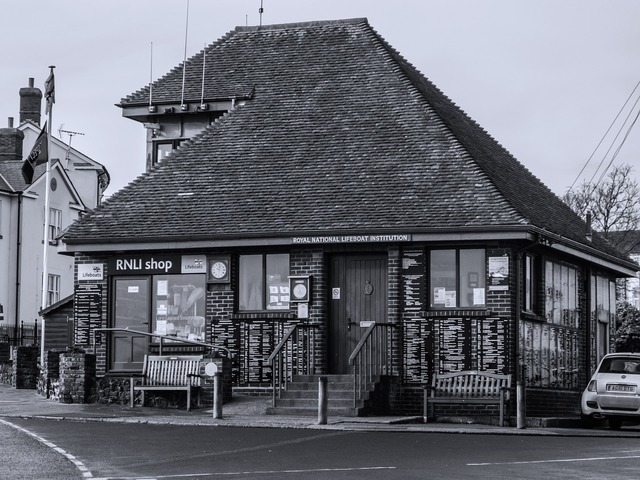 Rnli shop charity, architecture buildings.