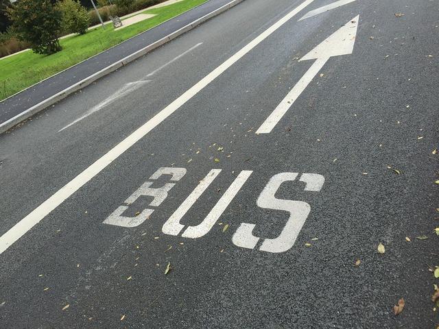 Road bus track, transportation traffic.