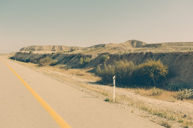 Road field terrain, transportation traffic.