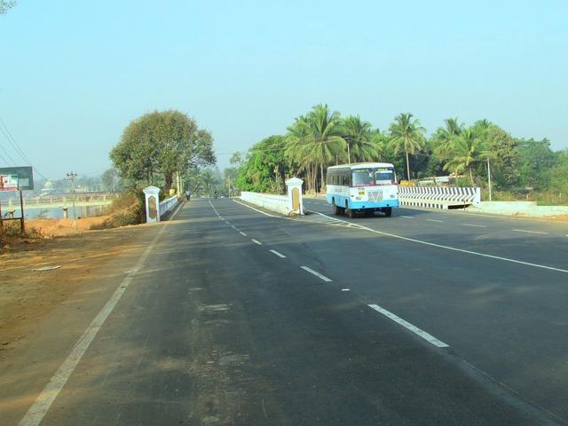 Road highway bridge, transportation traffic.