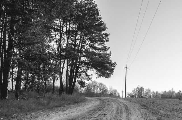 Road loneliness bankrupt, transportation traffic.
