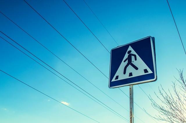 Road sign roadsign crosswalk, transportation traffic.