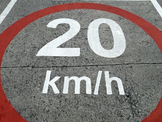 Road sign speed limit street sign, transportation traffic.