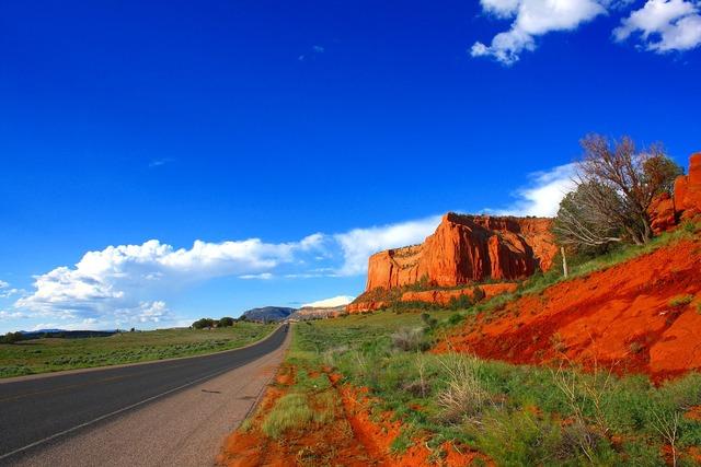 Road usa arizona, transportation traffic.
