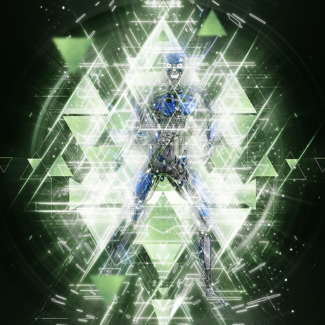 Robot cyborg future, science technology.