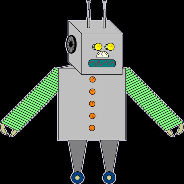 Robot machine droid, science technology.