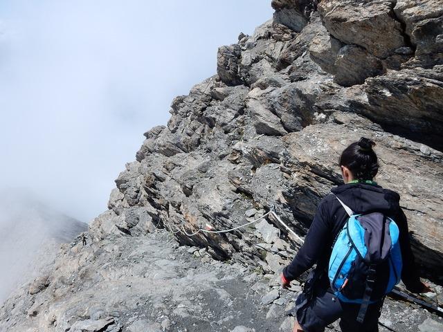 Rocciamelone mountain alps, nature landscapes.