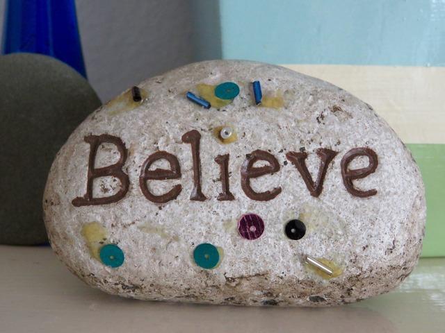 Rock art believe, industry craft.