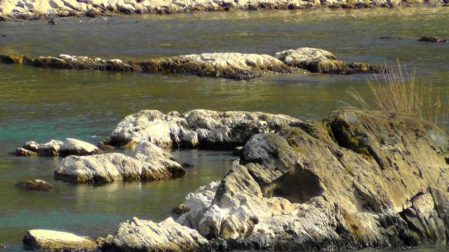 Rock rhine river.