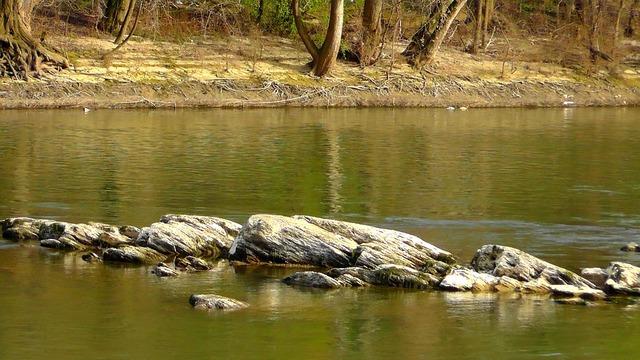 Rock rhine st goar, nature landscapes.