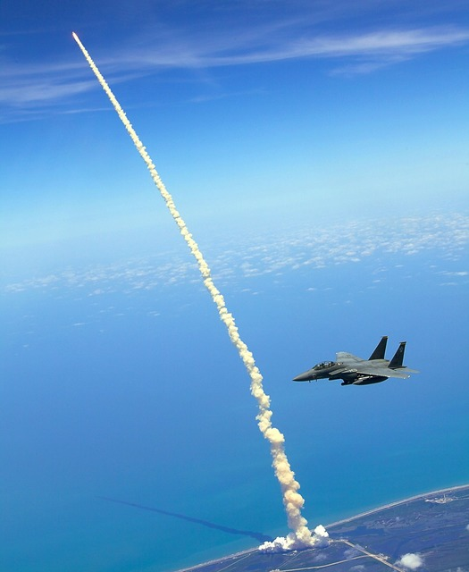 Rocket launch space shuttle atlantis, science technology.