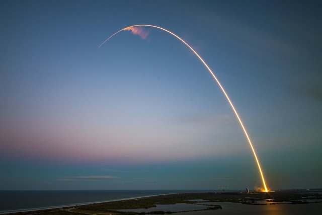 Rocket ses 9 launch cape canaveral, science technology.