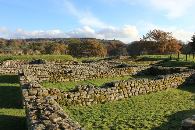 Roman chesters wall.
