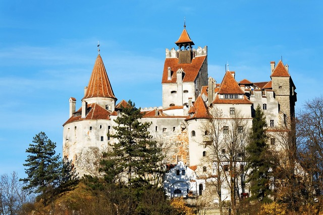 Romania bran castle.