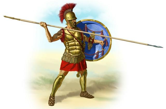 Romans gladiator spear.