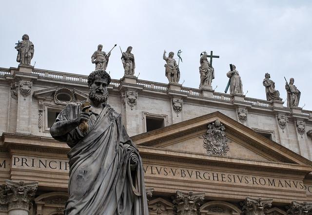 Rome cathedral catholic, religion.