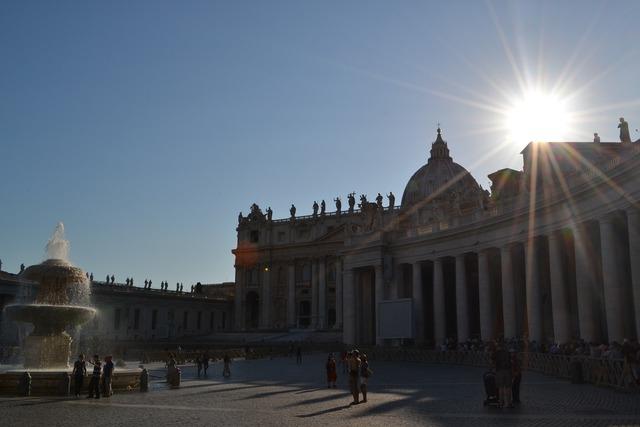 Rome europe light, architecture buildings.