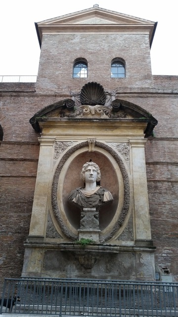 Rome history wall, places monuments.