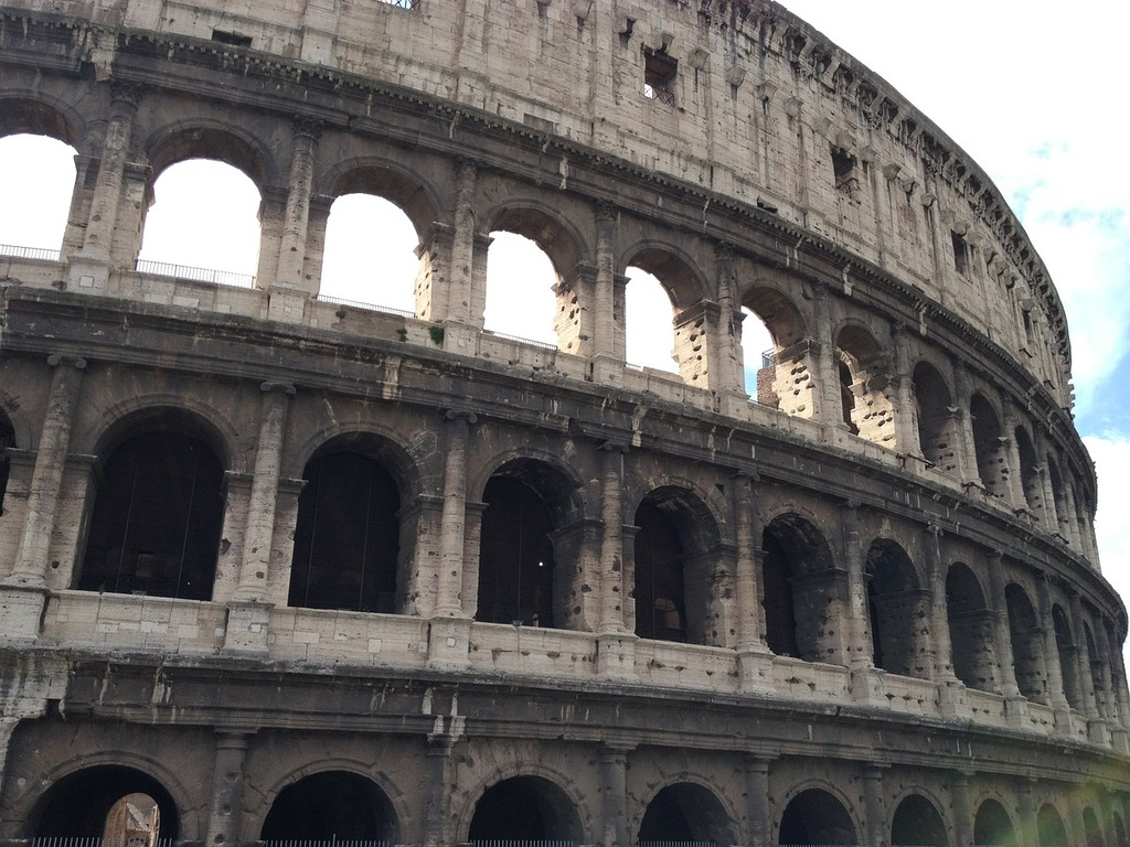Rome italy colosseum, places monuments.