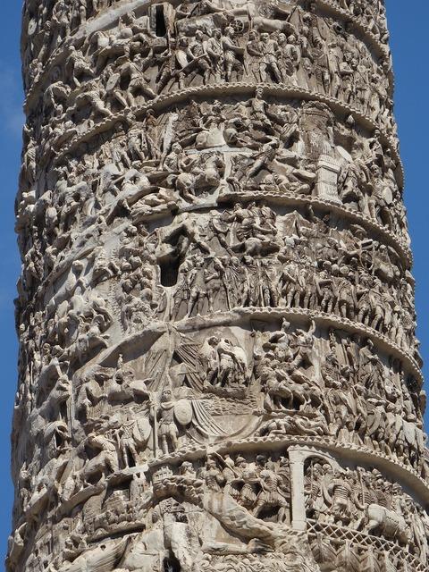 Rome italy column.