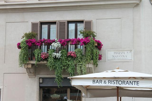 Rome italy piazza navona.