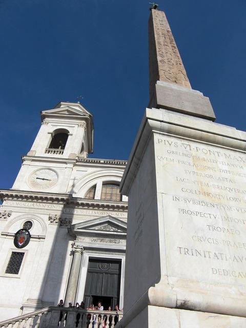 Rome italy spanish steps, religion.