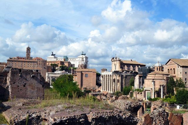 Rome italy square.