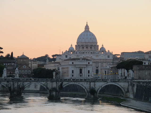 Rome st peter's basilica italy, architecture buildings.