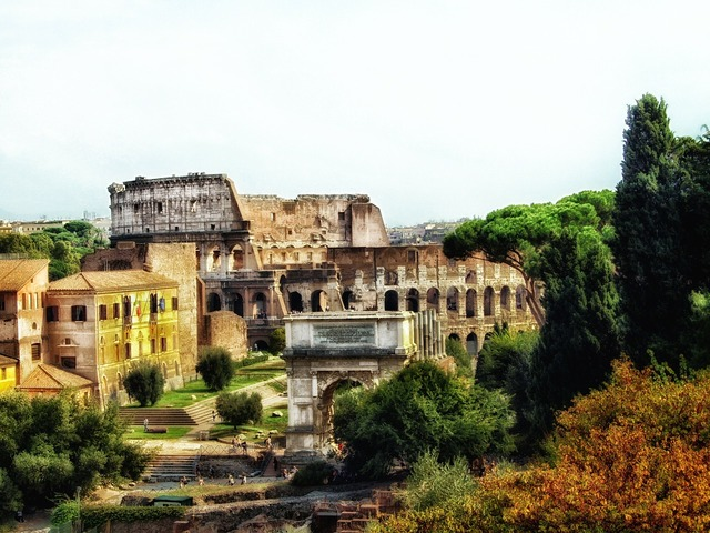 Rome the colosseum italy, places monuments.