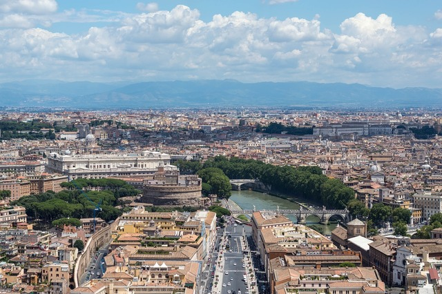 Rome vatican view.