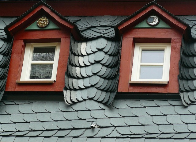 Roof slate roof slate, architecture buildings.