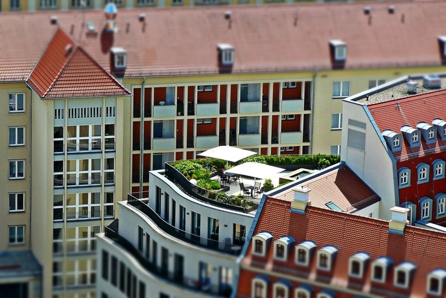 Roof terrace architecture dresden, architecture buildings.