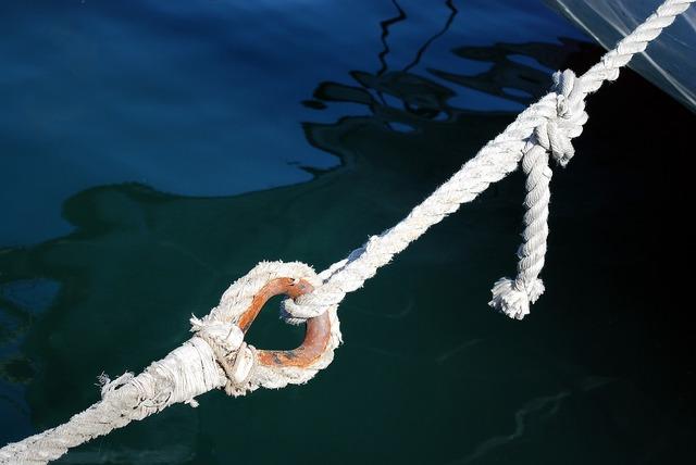 Rope sea barcelona, computer communication.