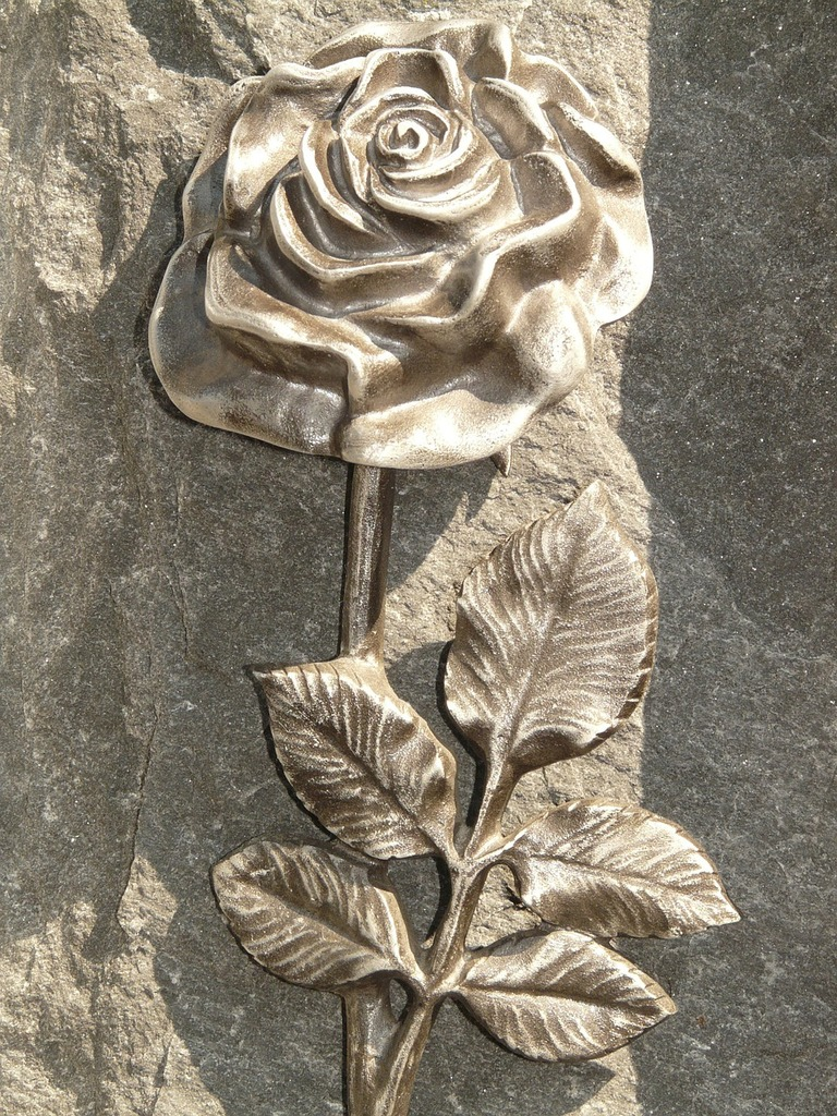 Rose tombstone spiny, nature landscapes.