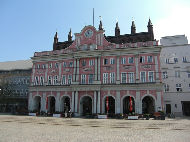 Rostock hanseatic league hanseatic city, architecture buildings.