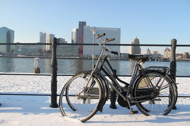 Rotterdam mesh cycling.