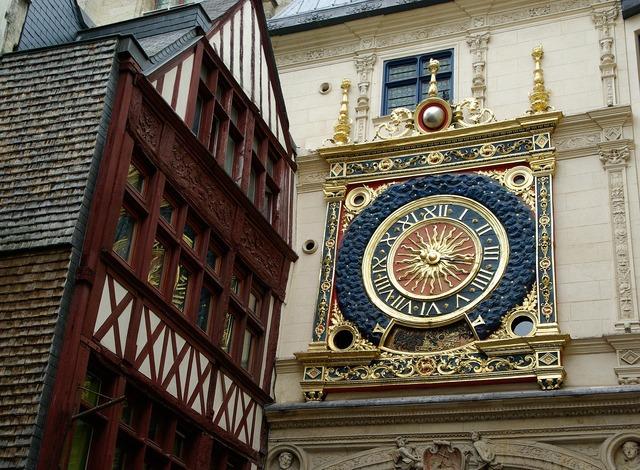 Rouen normandy dial.