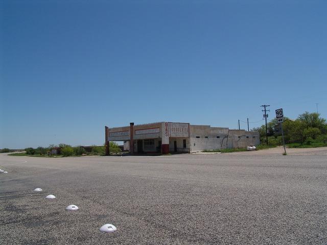 Route 66 dryden texas.