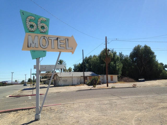 Route 66 motel old.