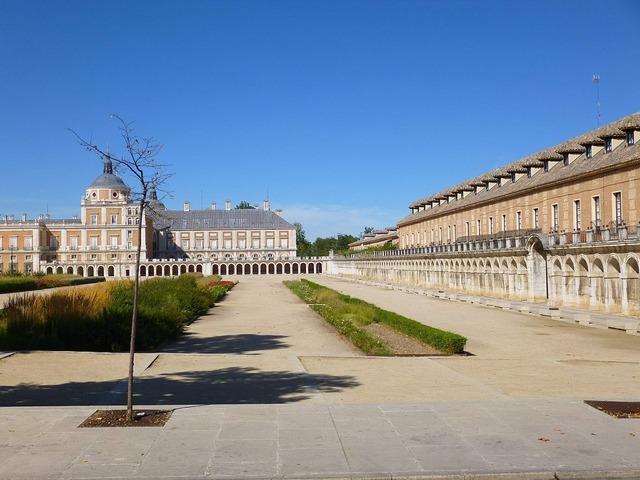 Royal palace aranjuez spain, architecture buildings.