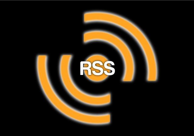 Rss feeds web, computer communication.