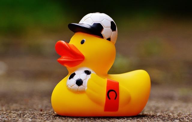 Rubber duck football euro 2016, sports.