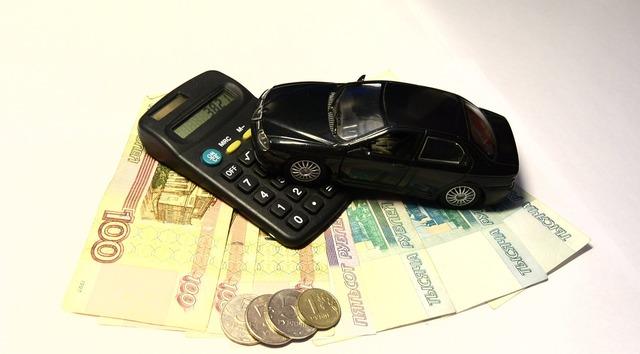 Ruble bills trifle, business finance.